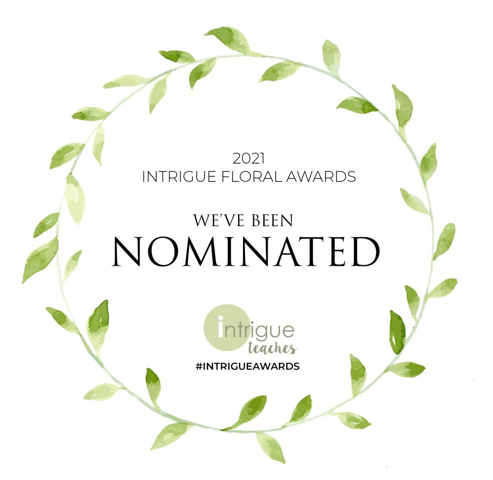 Intrigue Floral Awards
